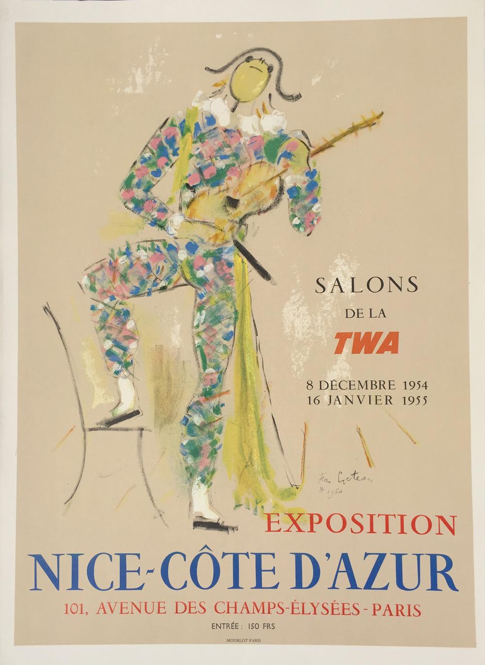 Jean Cocteau Exposition Nice Cote Azur