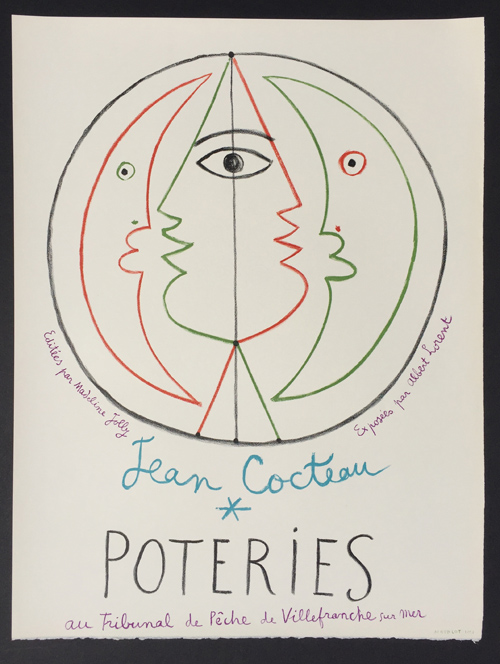 Jean Cocteau Poteries Poster