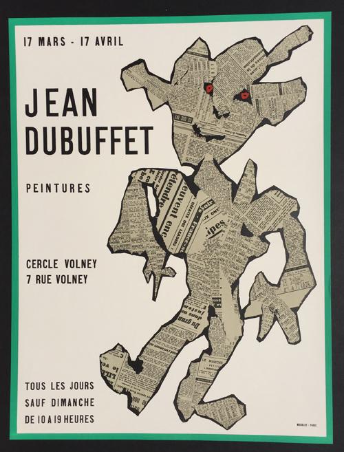 Jean Dubuffet - Peintures Cercle Volney