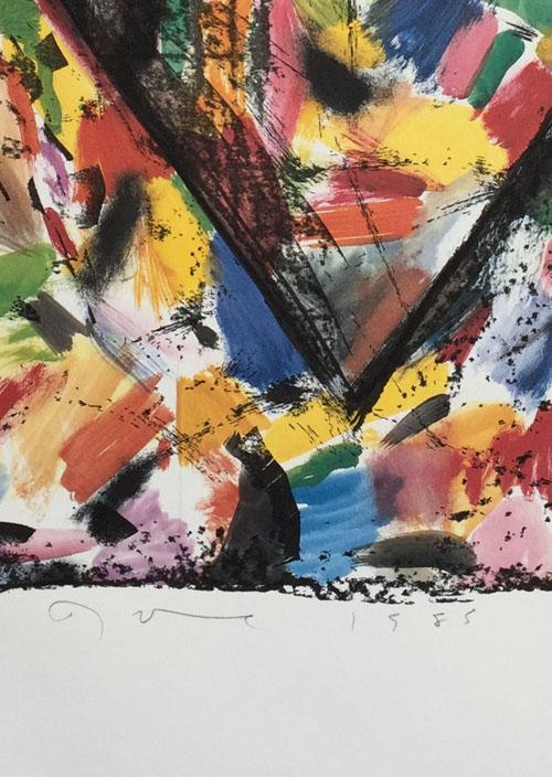 Jim Dine Confetti Heart 1985