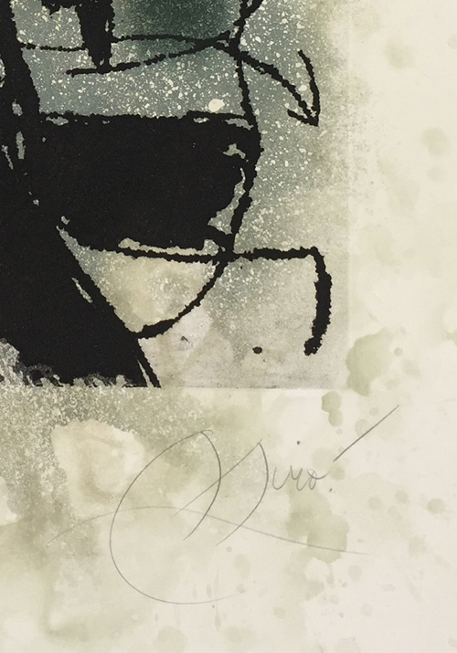 Joan Miro Aldebaran Dupin 1008