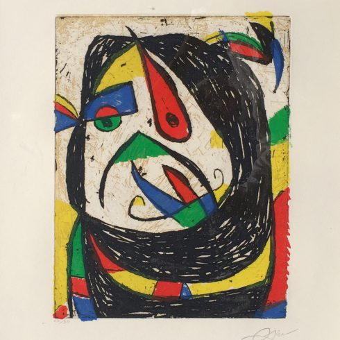 Barb IV by joan miro