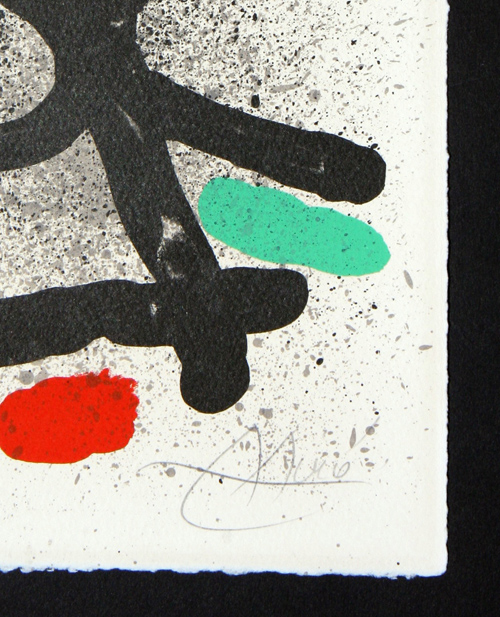 Joan Miro Cahier ombres M 744