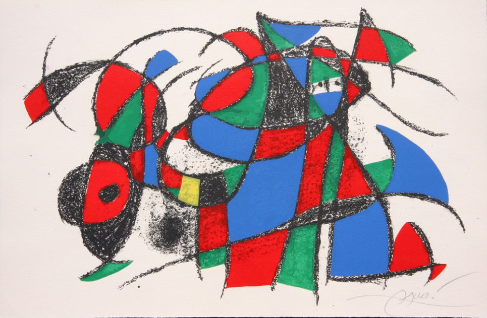 Joan - Miro - Lithograph - Signed - M.1039