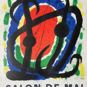 Joan Miro Salon de Mai Poster