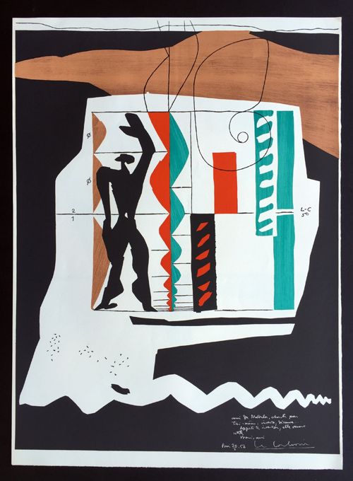 Le Corbusier Modulor Print