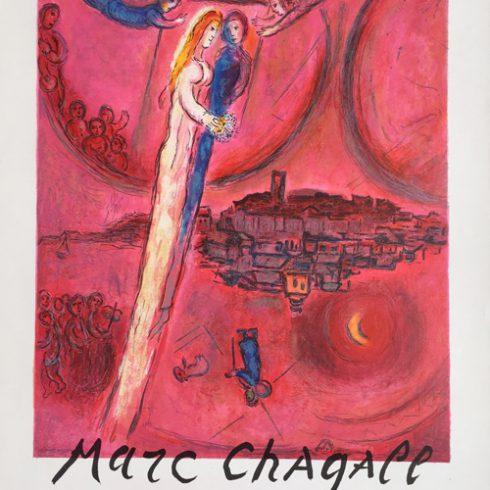 Marc Chagall Cantique des Cantiques