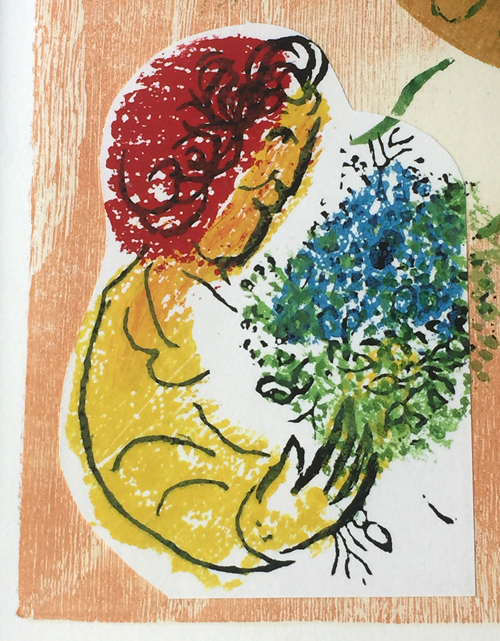 Marc Chagall Poems of David Cramer 74