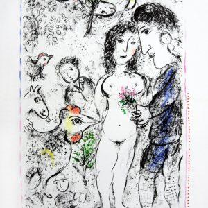 Marc Chagall Souvenance d'un Printemps