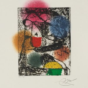barb i by joan miro