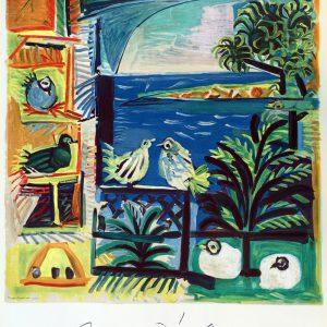 Pablo Picasso Cote Azur Lithograph Poster
