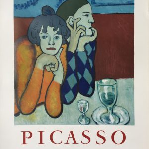 Pablo Picasso Maison de la Pensee Francaise Poster