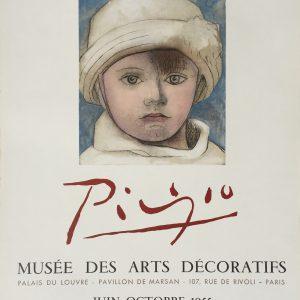 Pablo Picasso Poster Musee des Arts Decoratifs