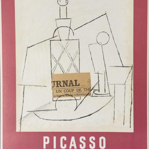 Pablo Picasso Papiers colles Dessins