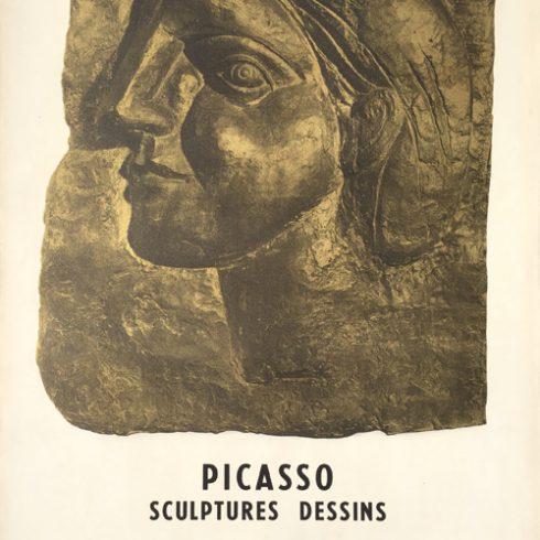 Pablo Picasso Poster Sculptures Dessins