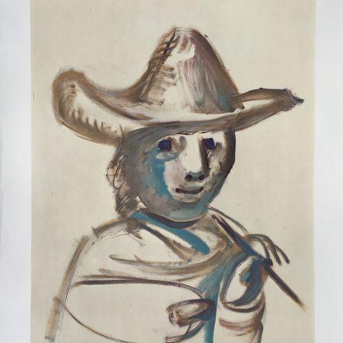 Picasso XXVII Festival d'Avignon Poster