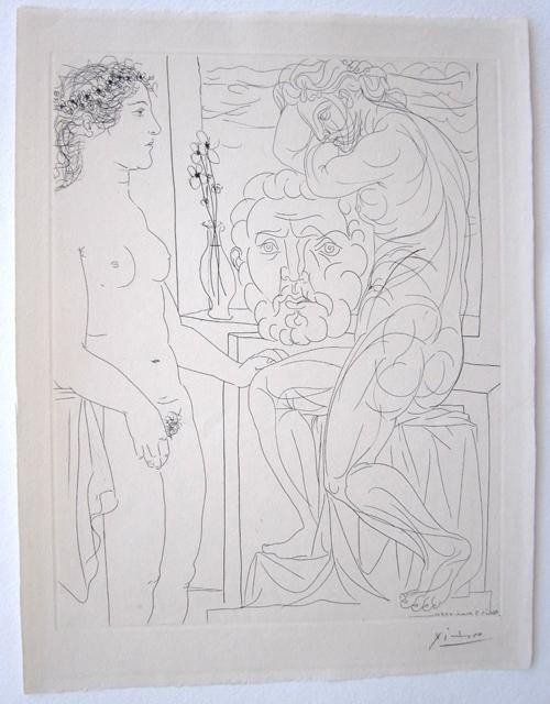 Pablo Picasso Vollard Bloch 185