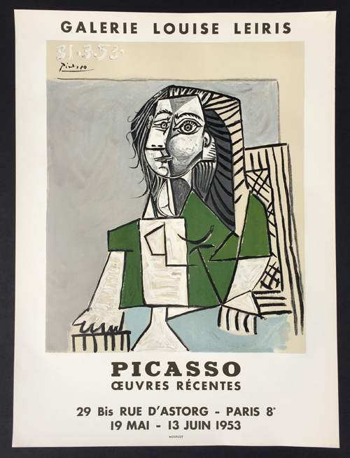 Picasso Oeuvres Recentes Galerie Louise Leiris