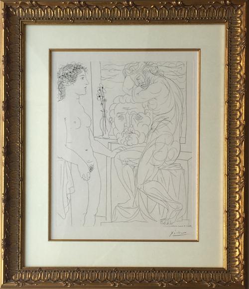 Picasso Vollard Suite - Modele Nu et Sculptures