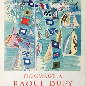 Ville de Honfleur - Hommage a Raoul Dufy