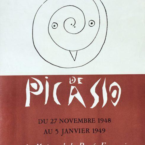 Poteries de Picasso Poster