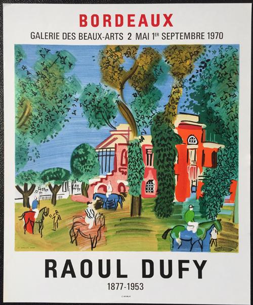 Raoul Dufy - Bordeaux Poster