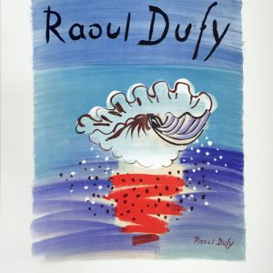 Raoul Dufy Poster Musee des Beaux-Arts