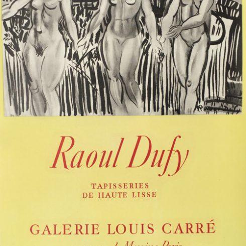 Raoul Dufy Poster Nudes - Tapisseries de Haute lisse