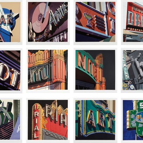 Robert Cottingham - American Signs Portfolio