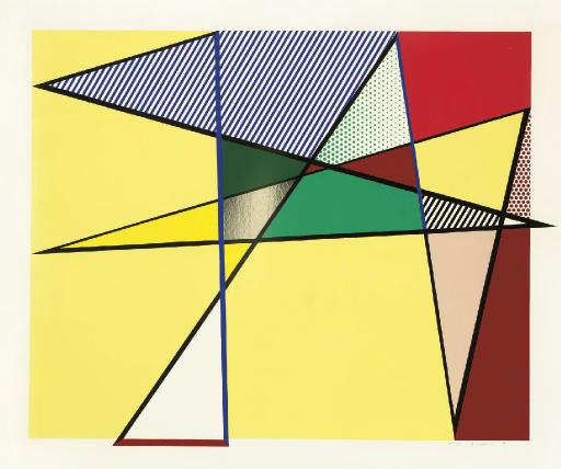 Roy Lichtenstein Imperfect 67 x 79