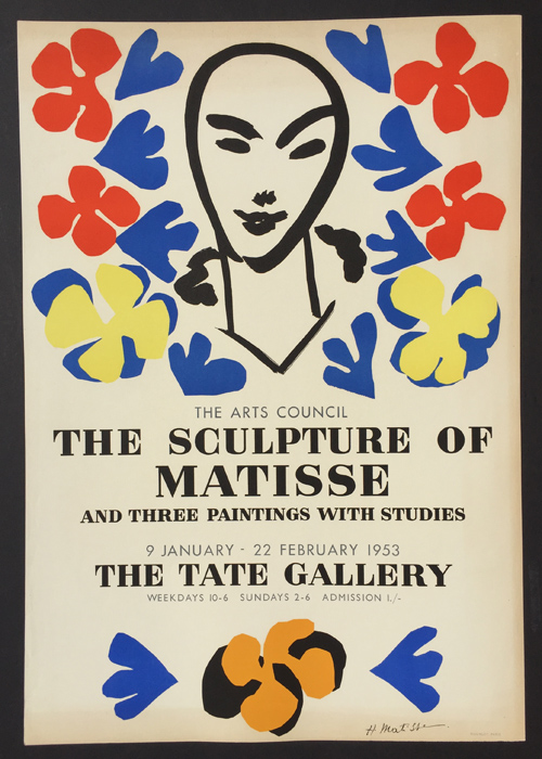 Sculpture of Matisse - Tate Gallery