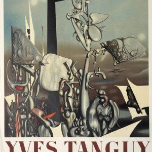 Yves Tanguy Poster Galerie Renou et Poyet