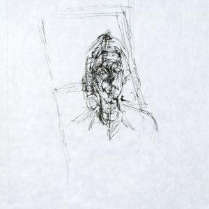 La Magie Quotidienne (Face) by Alberto Giacometti