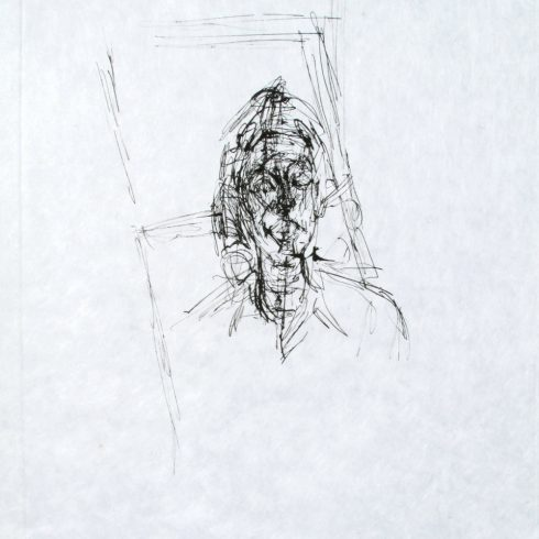La Magie Quotidienne (Face) by Alberto Giacometti