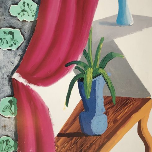 David Hockney - LACMA Hockney Retrospective 1988