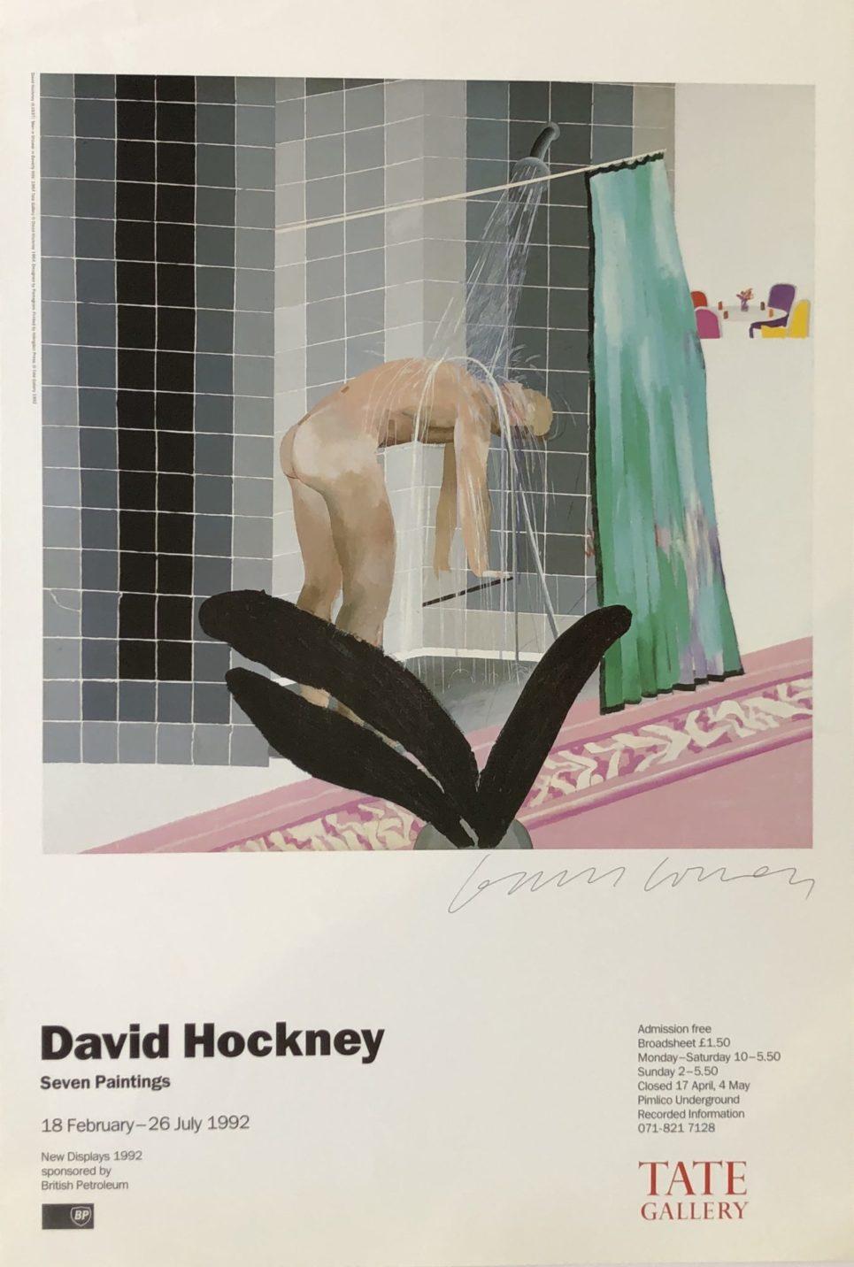 David Hockney - Seven Paintings