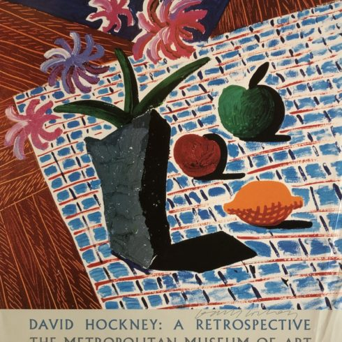 David Hockney - Still Life with Flowers
