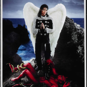 american jesus: archangel michael jackson (sml) by david lachapelle