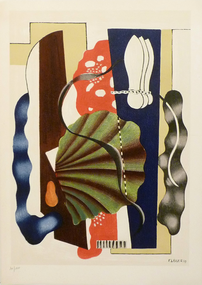 nature morte by fernand leger