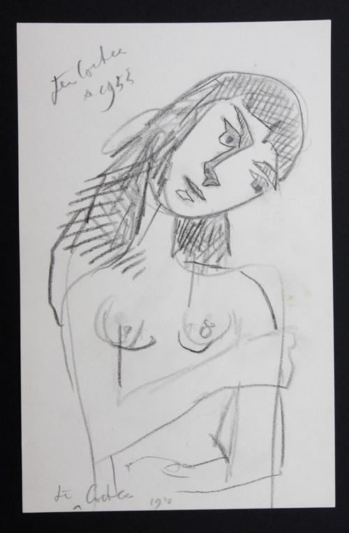 Jean Cocteau - Woman Thinking