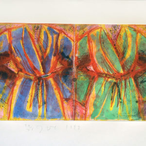Jim Dine Behind the Thicket