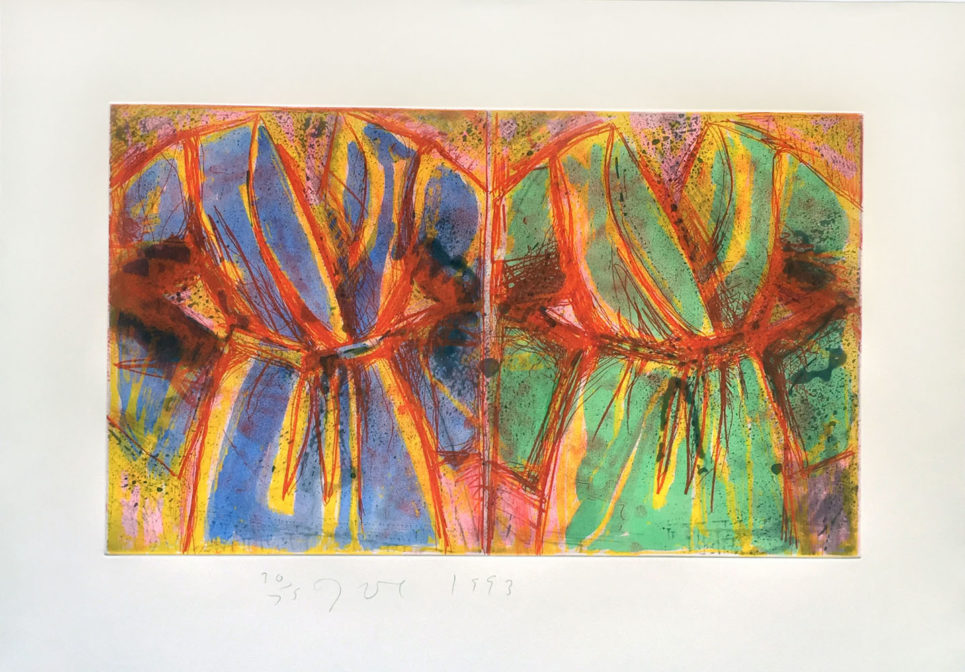 Jim Dine - Behind the Thicket