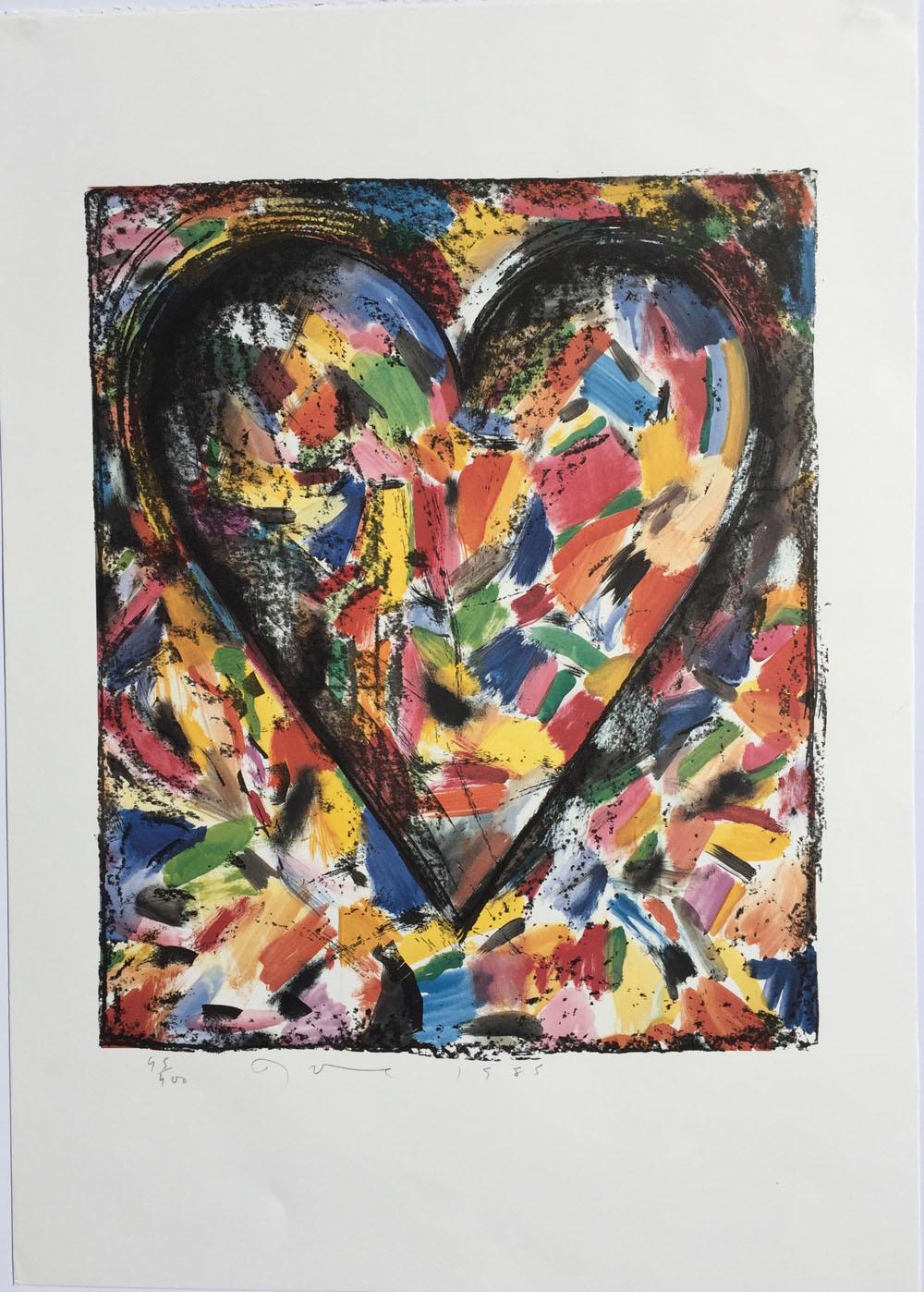 Jim Dine - The Confetti Heart