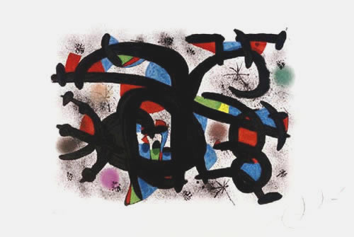 le calin catalan by joan miro