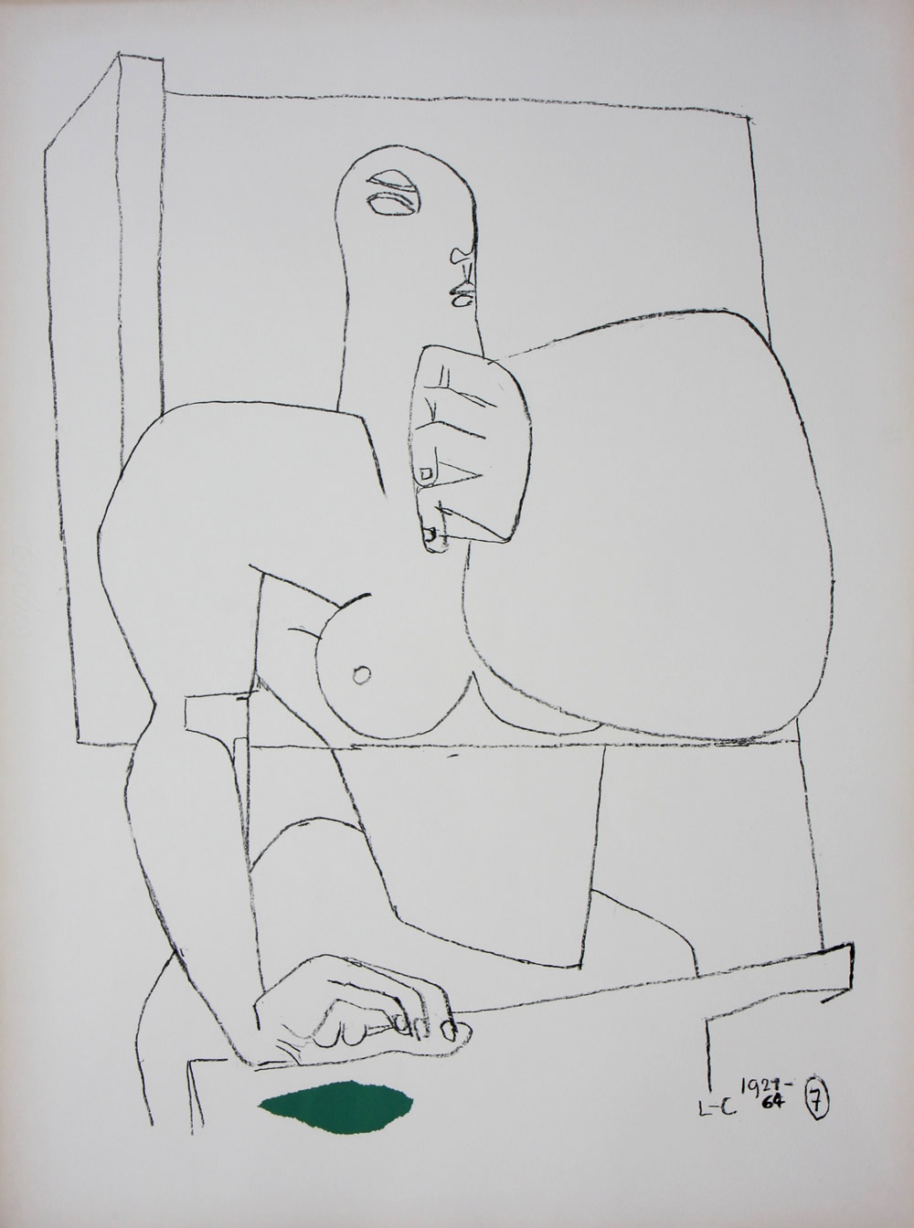 Le Corbusier - Athlete 7