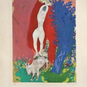 Marc Chagall Femme de Cirque