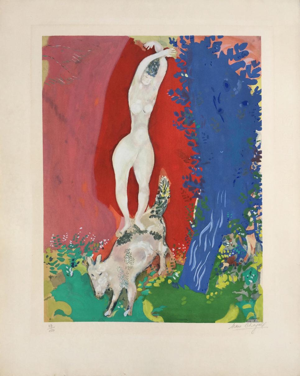 Marc Chagall - Femme de Cirque