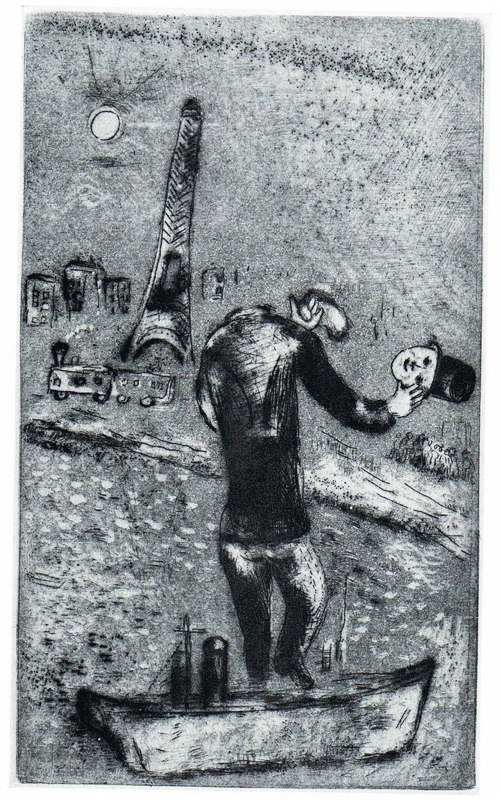 Marc Chagall - Ouvert la Nuit