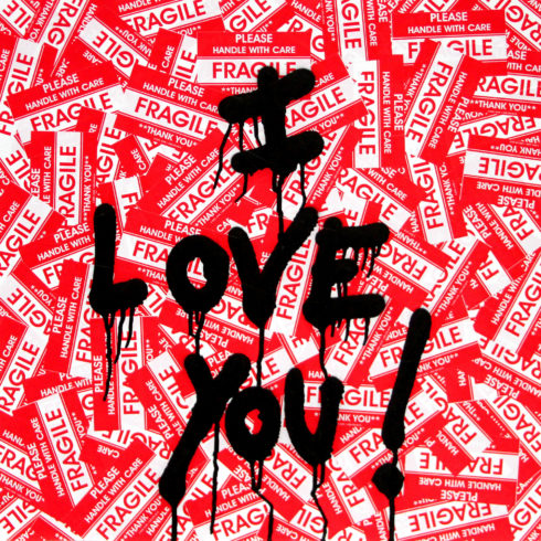 Mr. Brainwash - I Love You!