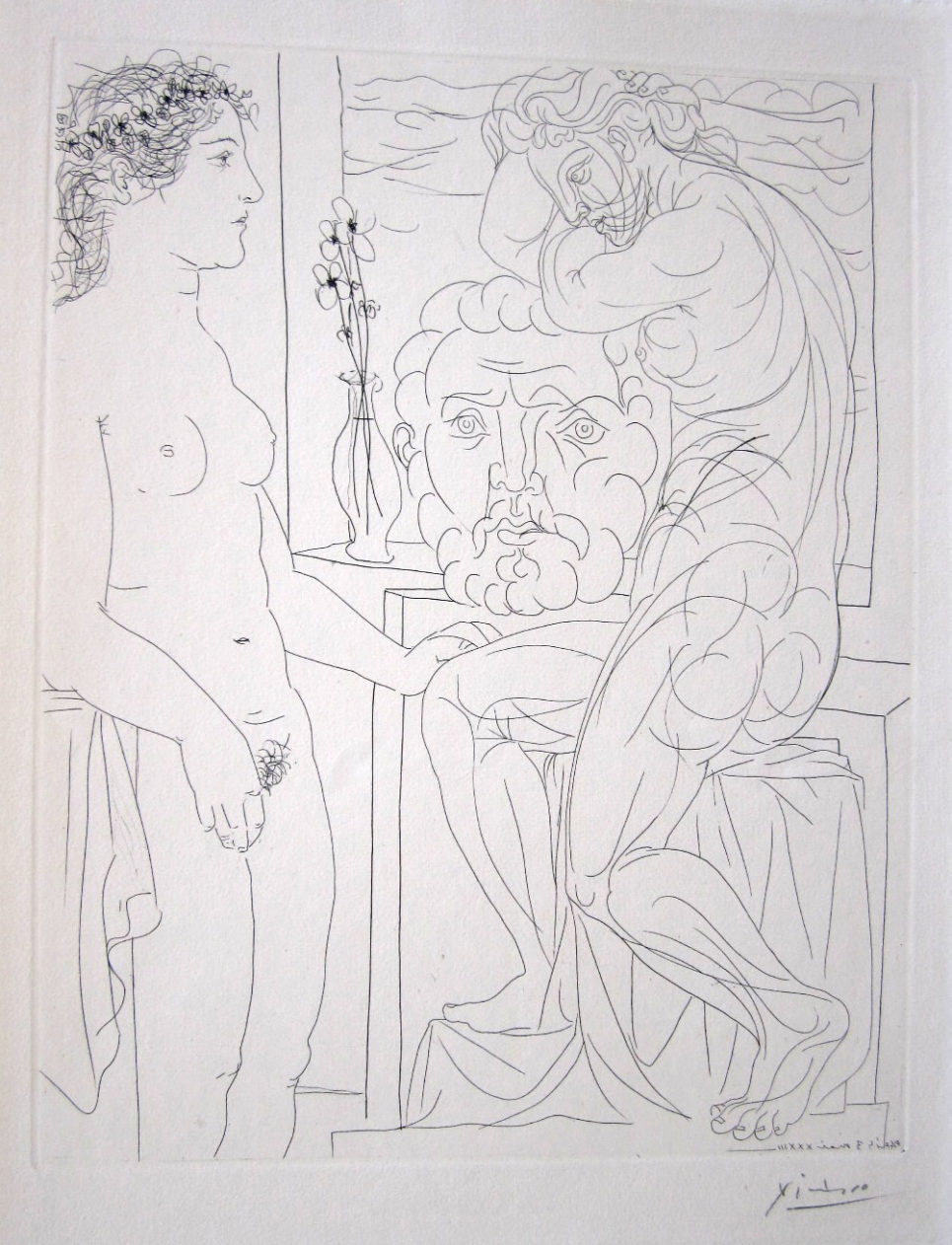 vollard suite modele nu et sculptures by pablo picasso